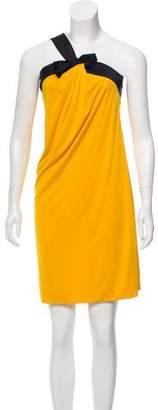 Gucci One-Shoulder Mini Dress
