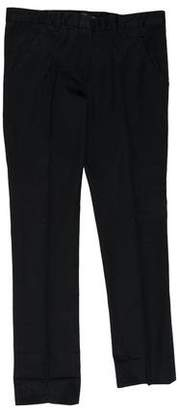 Balenciaga Cropped Straight-Leg Pants w/ Tags