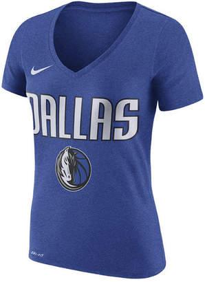 Nike Women's Dallas Mavericks Wordmark T-Shirt