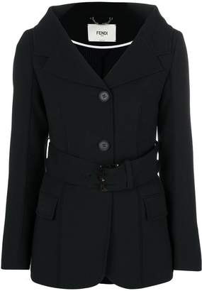 Fendi belted jacket