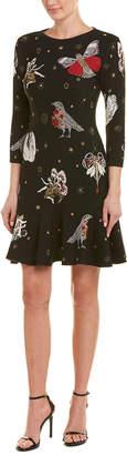 Alexander McQueen Gothic Fairytale Wool & Silk-Blend Sheath Dress