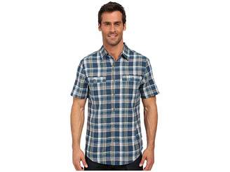 Royal Robbins Shasta Plaid Short Sleeve Shirt Men's Short Sleeve Button Up