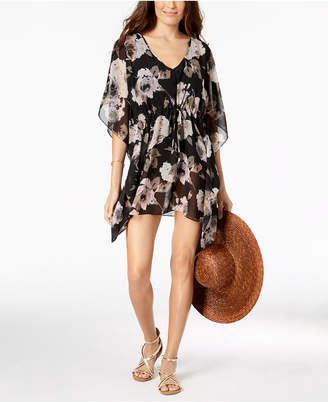 Calvin Klein Floral-Print Cover-Up Women's Swimsuit