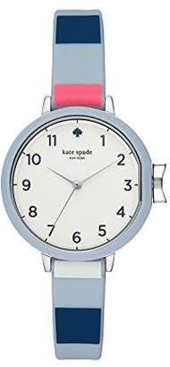 Kate Spade Women's 'Park Row' Quartz Stainless Steel and Silicone Casual Watch