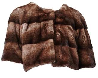 Bos. & Co. Lilly E Violetta Sarah Mini Mink Fur Jacket Bosco