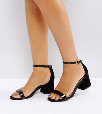 Asos Design Honeydew Heeled Sandals