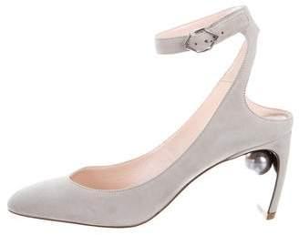 Nicholas Kirkwood Lola Pearl Ankle Strap Sandals w/ Tags