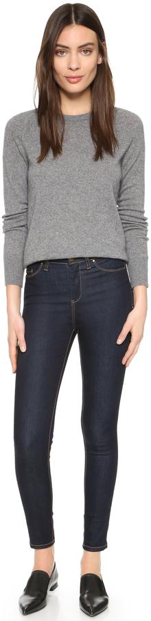 Blank High Rise Skinny Jeans