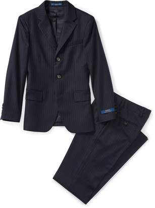 Ralph Lauren Polo Pinstripe Wool Twill Suit