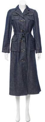 Marc by Marc Jacobs Denim Trench Coat