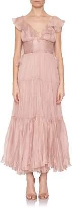 Maria Lucia Hohan Majda Ruffle Gown