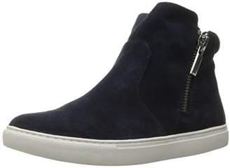 Kenneth Cole New York Women's Kiera High Top Sneaker Double Zip Suede Fashion