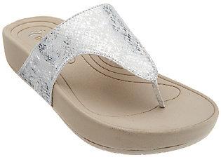 BareTraps Slide Thong Sandals - Galina $19.12 thestylecure.com