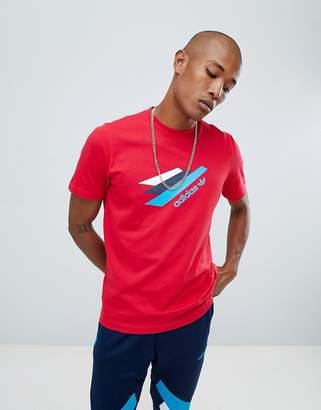adidas Palmerston T-Shirt In Red DJ3453