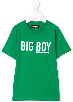 DSQUARED2 big boy print T-shirt