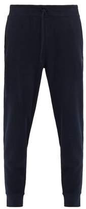 Polo Ralph Lauren Logo Embroidered Fleece Track Pants - Mens - Navy