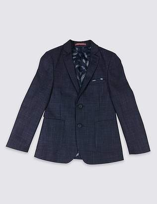 Marks and Spencer Textured Fashion Blazer (3-16 Years)