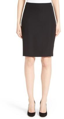 Women's Armani Collezioni Techno Cady Pencil Skirt $475 thestylecure.com