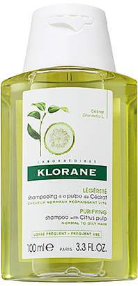 Klorane Travel Shampoo with Citrus Pulp.