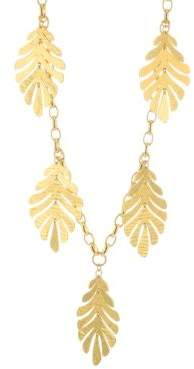 Kate Spade Statement Leaf Necklace