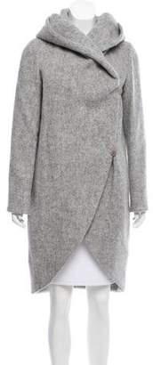 Zac Posen Camilla Wool Coat w/ Tags