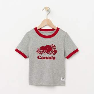 Roots Toddler Cooper Canada Ringer T-shirt