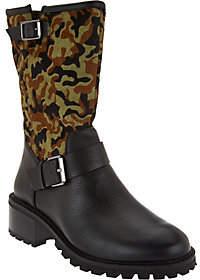 LOGO by Lori Goldstein Short Shaft NoveltyMoto Boots