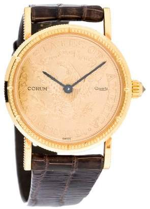 Corum $5 Coin Watch