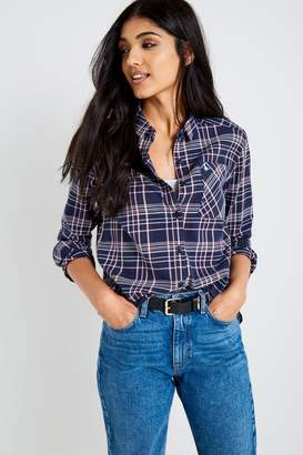 Jack Wills Blissford Girlfriend Plaid Shirt