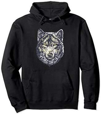 Warrior Wolf Animal Lover Hoodie