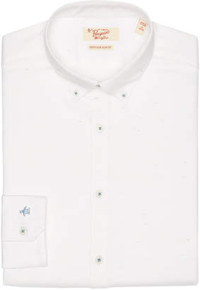Original Penguin WHITE DOBBY DRESS SHIRT