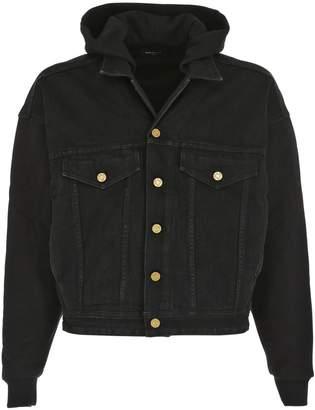 Fear Of God Hooded Cotton Trucker Jacket