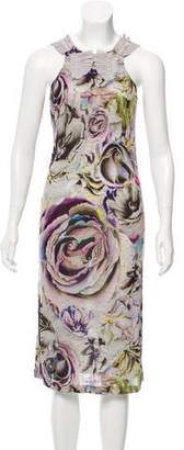 Christian Lacroix Printed Jersey Dress
