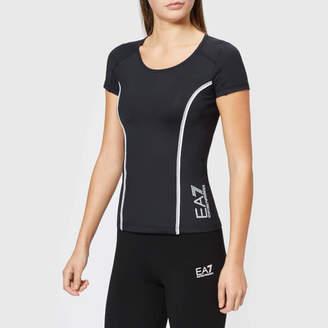 cd7e61e3 Emporio Armani Women's Round Neck T-Shirt