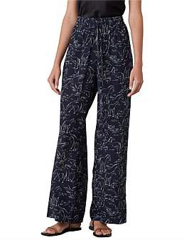 Lee Mathews Pony Print Lounge Pant