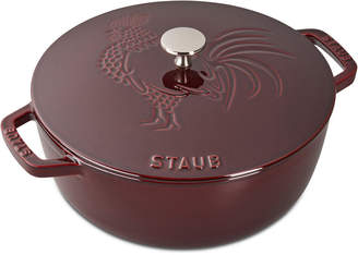 Staub Cast Iron 3.75-qt Essential French Oven & Rooster Lid