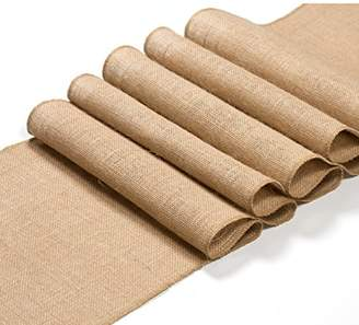 """Burlap table runner 12""""x108"""" inches 