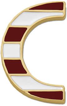 Henri Bendel Influencer Letter Pin