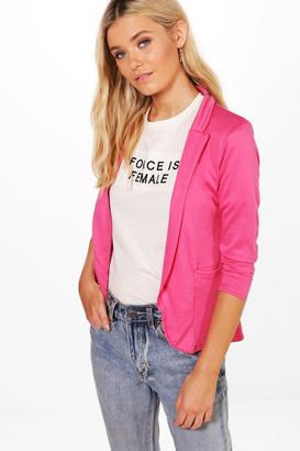 boohoo Faith Pocket Ponte Blazer $30 thestylecure.com
