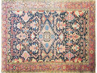 """One Kings Lane Vintage Antique Persian Serapi Rug - 9'4"""" x 12'5"""" - Eli Peer Oriental Rugs"""