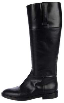 Michael Kors Michael Leather Riding Boots