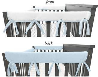 Tl Care Heavenly Soft Chenille Reversible Side Crib 2 Pk. Rail Covers TL Care Heavenly Soft Chenille Reversible Side Crib 2-pk. Rail Covers