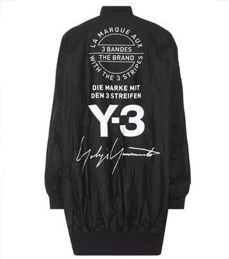 Y-3 Reversible printed bomber jacket