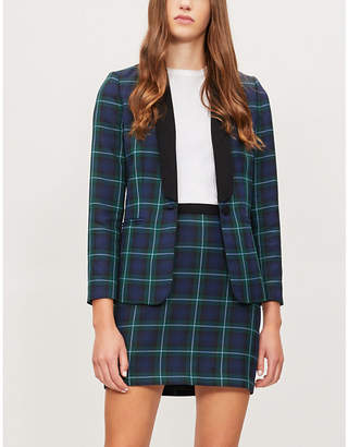 Claudie Pierlot Checked woven blazer