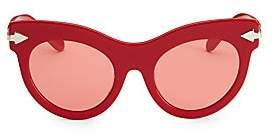 d90bb6d9177b Karen Walker Women s 52MM Miss Lark Cat-Eye Sunglasses