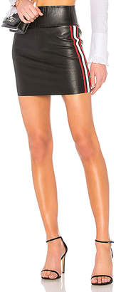 SPRWMN Stretch Stripe Mini Skirt