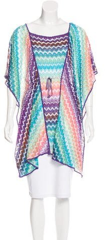 Missoni Missoni Knit Short Sleeve Cover-Up