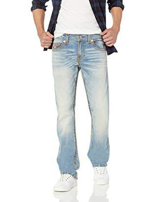 True Religion Men's Striaght Super T Jean