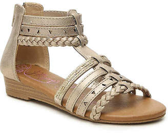 Jellypop Chipper Toddler & Youth Wedge Sandal - Girl's