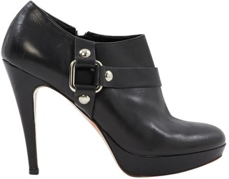 Balmain Leather ankle boots